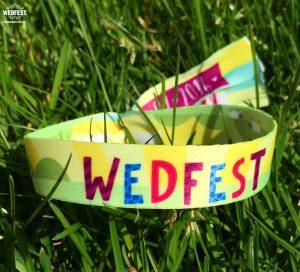 wedfest wedding wristbands
