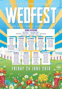 wedfest bedford golf club festival wedding table planner