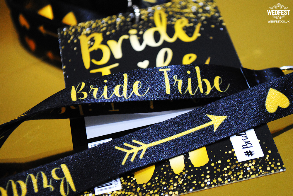 bride tribe hen bachelorette party vip lanyard