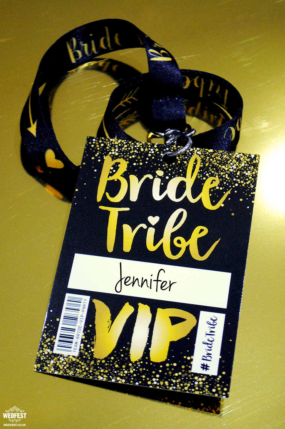 bride tribe vip pass accessories
