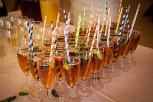 festival wedding drinks