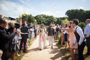 sara tim tipi festival wedding