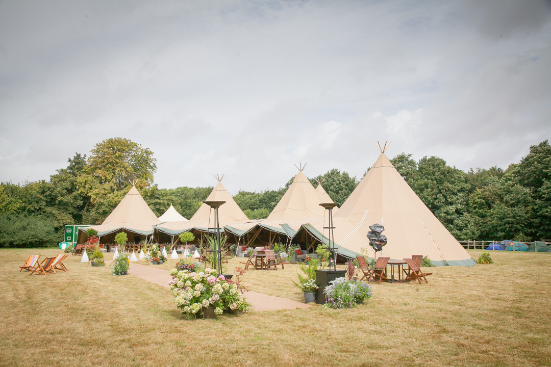 teepee wedding tents