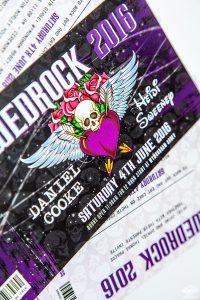wedrock tattoo skull metal rock wedding invitations