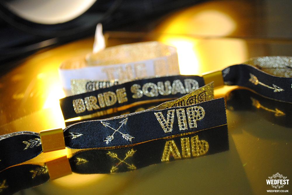 bride squad vip wristband bracelets