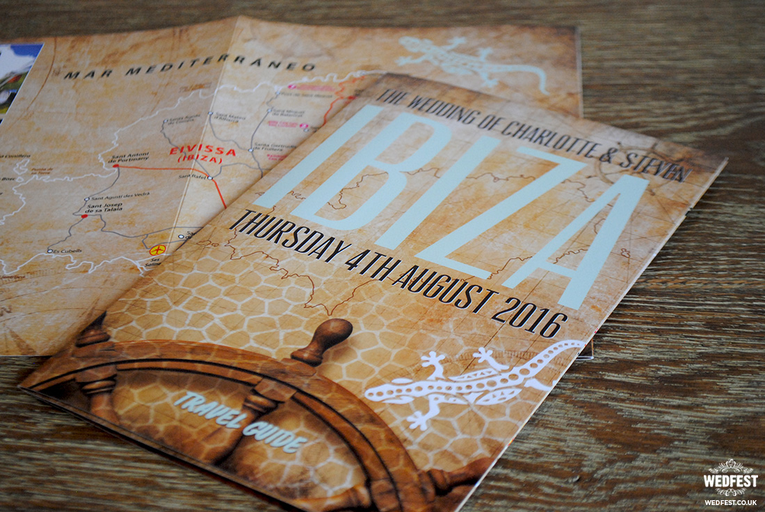 ibiza eivissa wedding invites