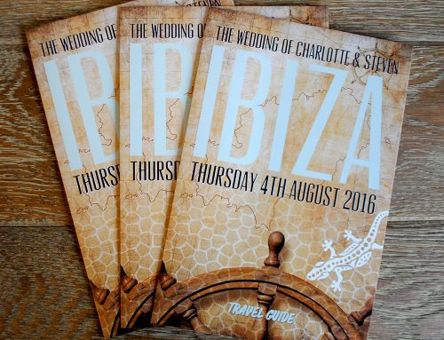 Charlotte and Stevens Ibiza Wedding Stationery
