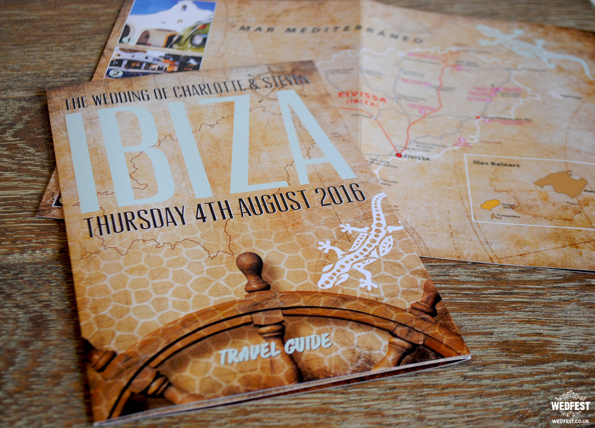 ibiza wedding stationery