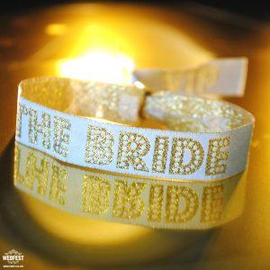 the bride wristbands bride squad