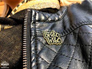 bride tribe badges lapel pin hen bachelorette