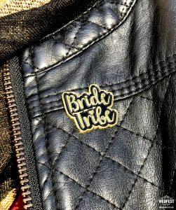 bride tribe hen bachelorette party enamel pin badges
