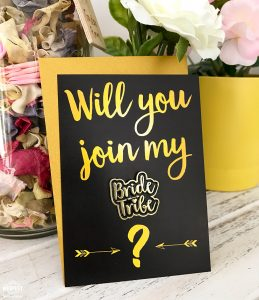 will you join my bride tribe cards