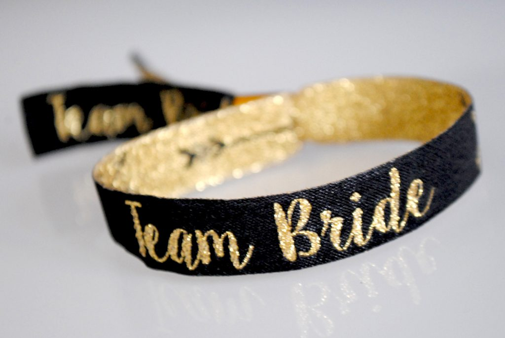 team bride hen party wristband