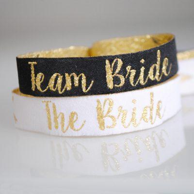 team bride hen party wristbands