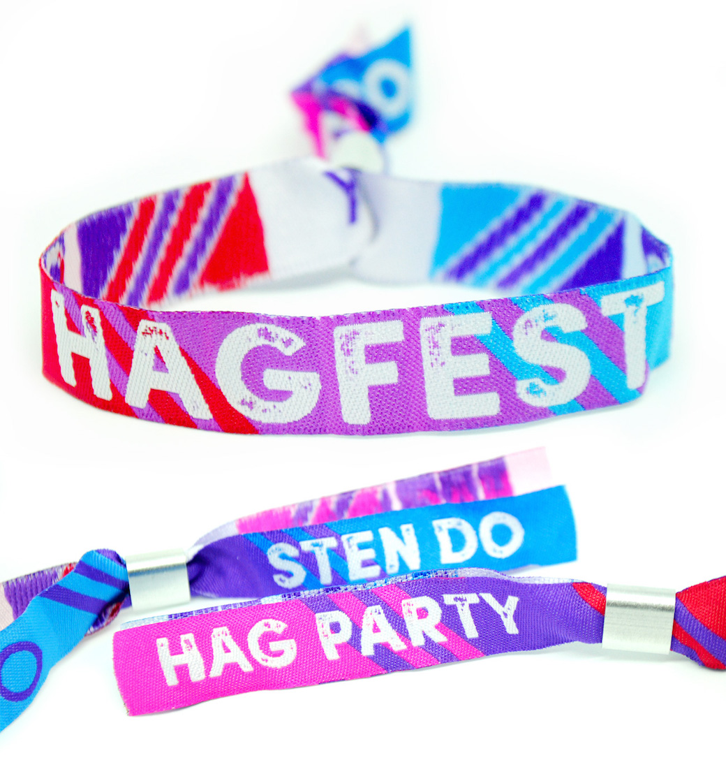 hagfest hag do sten party festival wristband