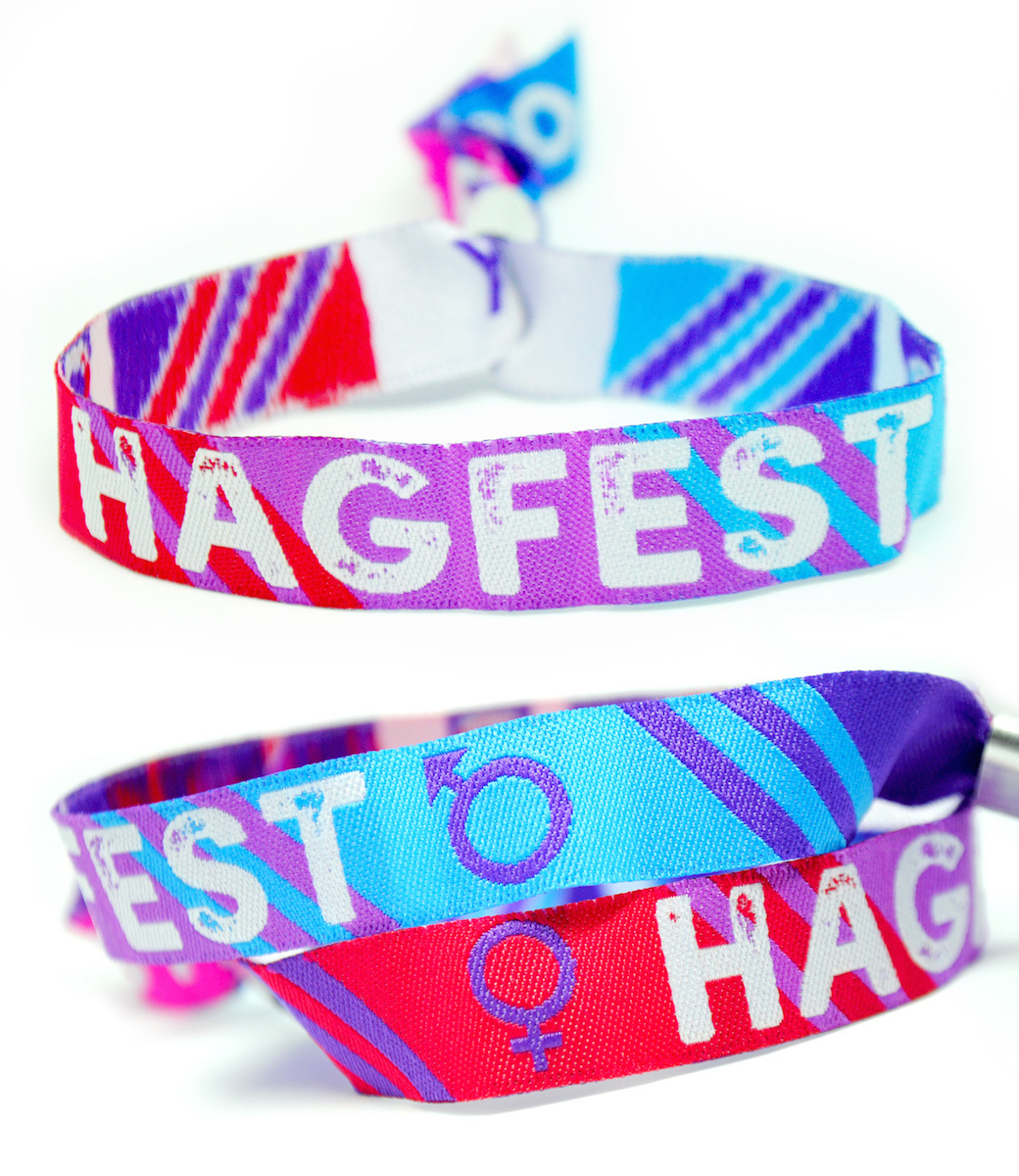 hagfest hag party hen stag party wristbands