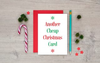 another cheap christmas card funny xmas cards