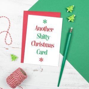 funny rude christmas cards shitty christmas card
