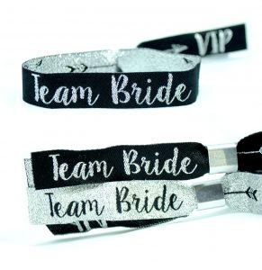 team bride hens party party bag bracelet wristbands