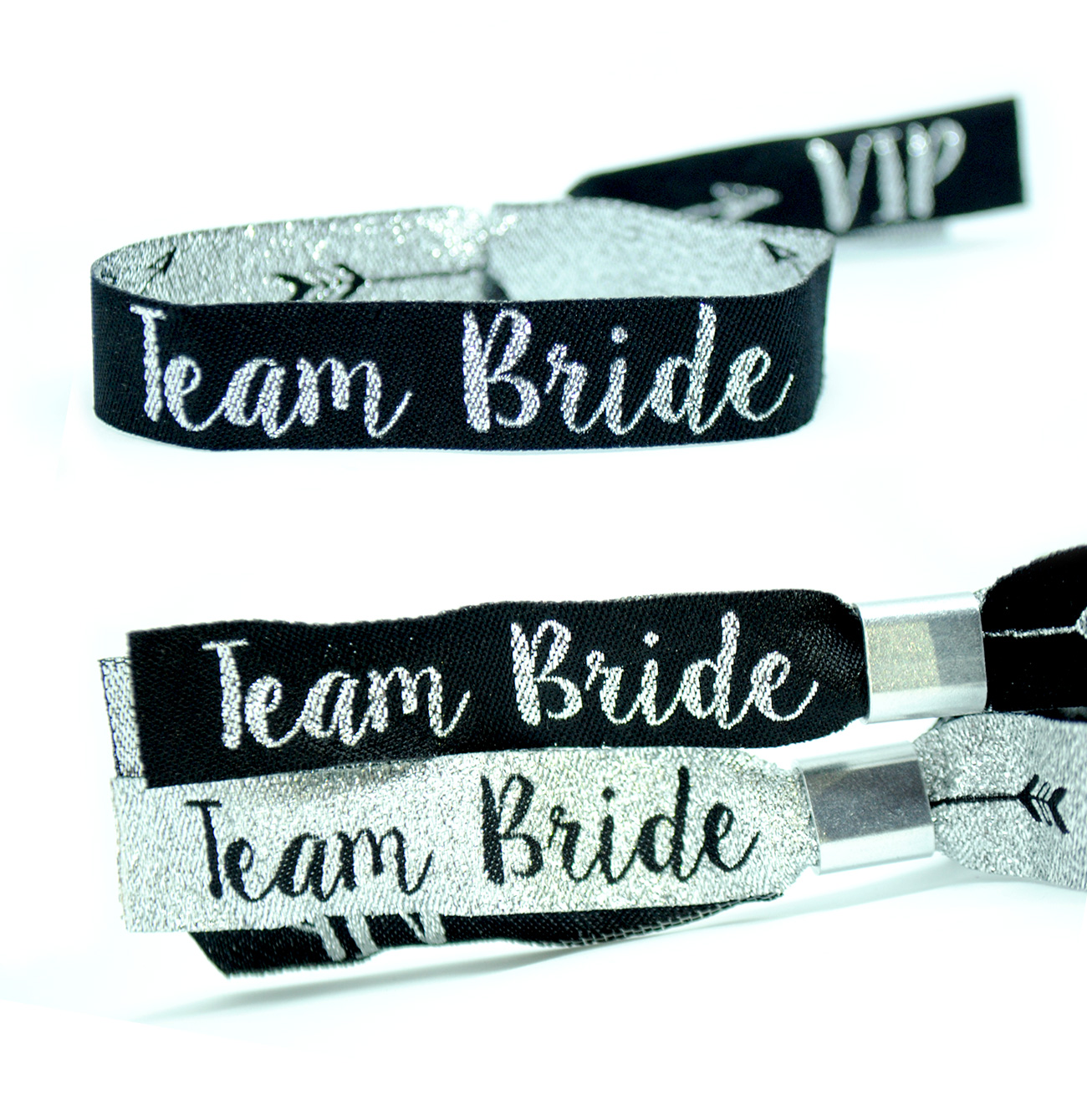team bride hens party party bag bracelet wristbands