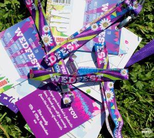 festival wedding wristbands vip lanyards