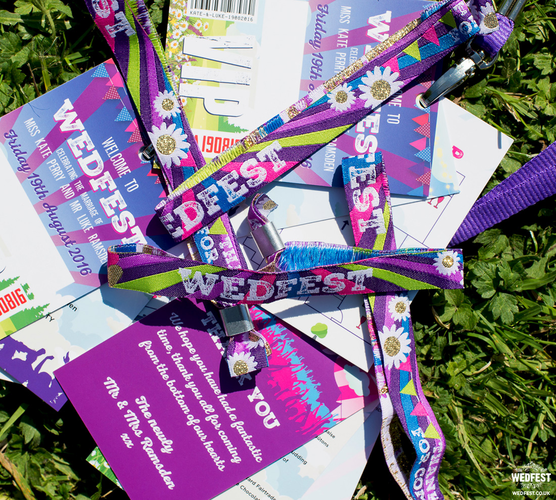 festival wedding wristbands vip lanyards