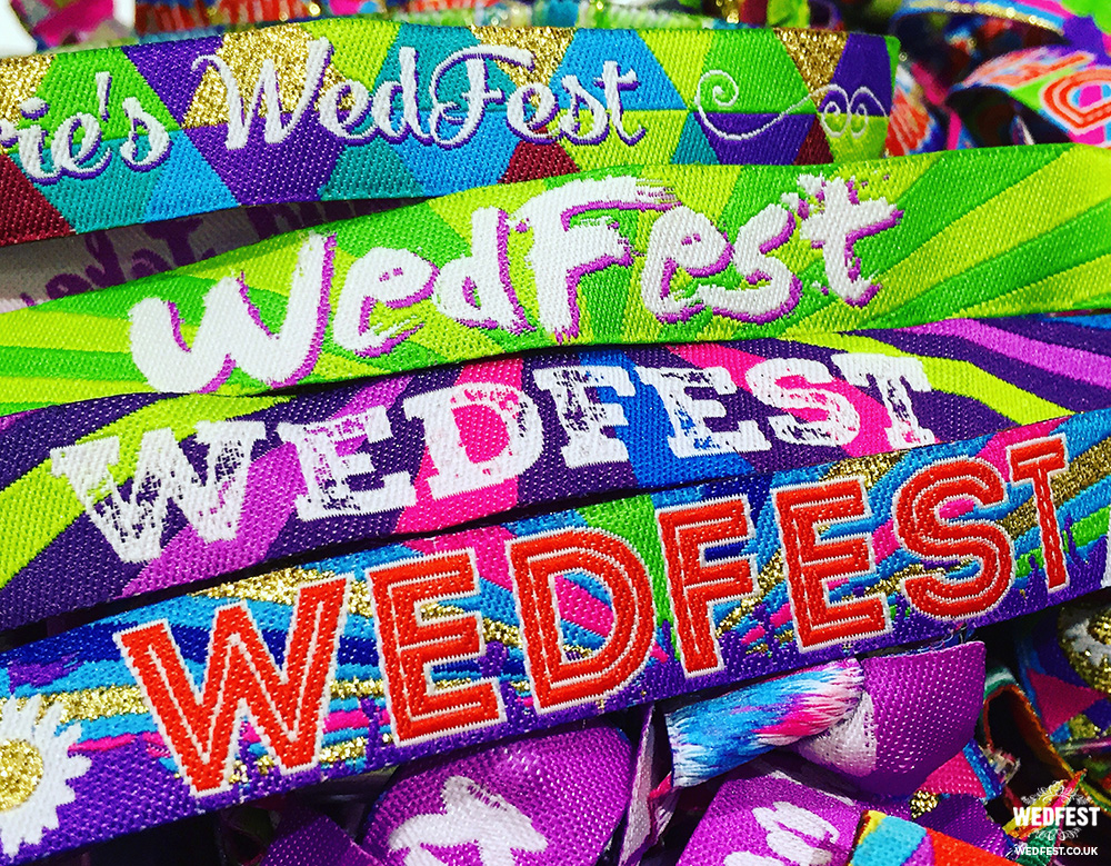 wedfest wristbands