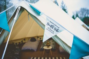beautiful bells hen party glamping