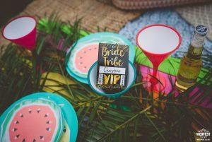 bride tribe hen party vip pass lanyard