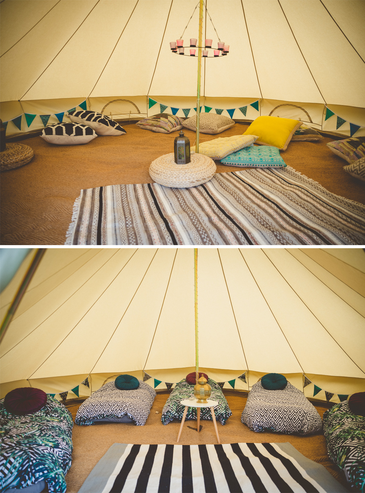 hen party glamping