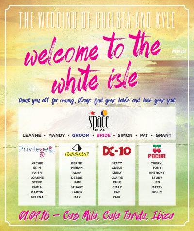 ibiza white isle cas mila destination wedding stationery
