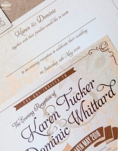 rustic chic festival wedding invitations