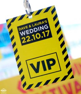 hacienda manchester wedding vip lanyard program