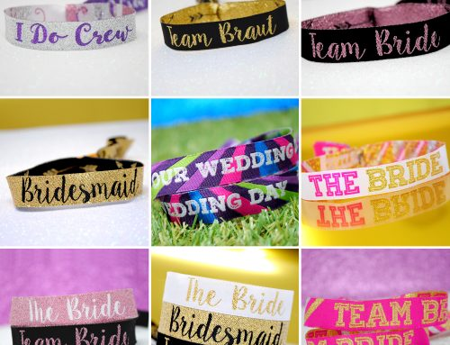 New Hen Party & Bachelorette Party Wristband Designs
