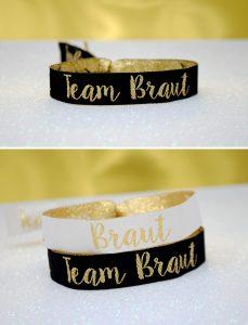 team braut hen party wristbands