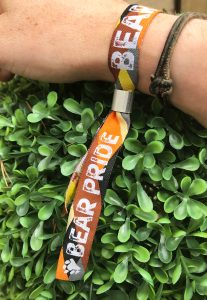 bear pride stag party wristbands