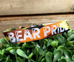 bear pride wristband