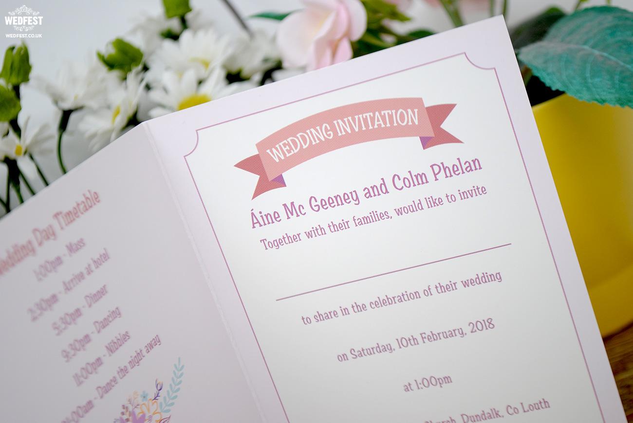 boho hipster wedding invitations