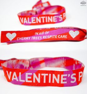 custom woven fabric festival wristbands uk ireland
