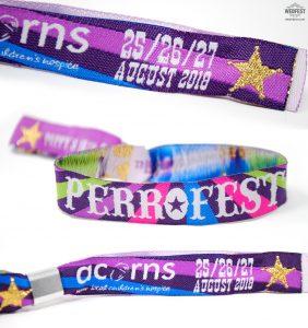 fabic woven wristbands festivals parties events
