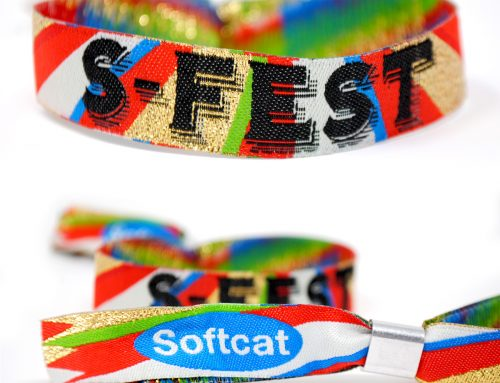 Custom Fabric Event Wristbands for Festivals and Corporate Events