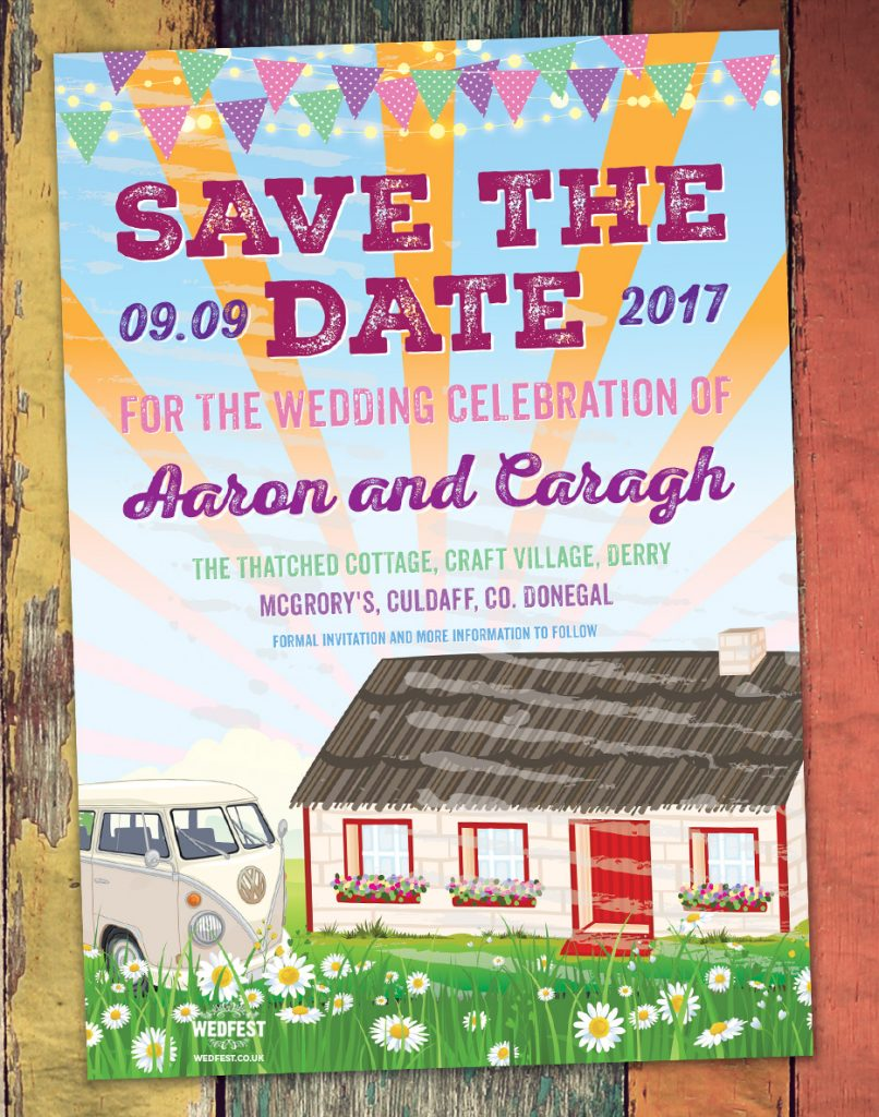wedding invitations donegal ireland wedfest