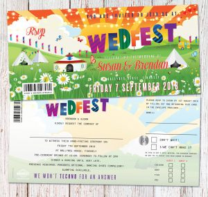 wedfest festival weddings ireland wedding invitations