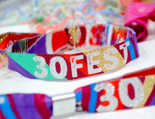 30 FEST 30th Birthday Party Festival Wristbands