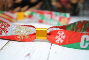 Christmas Favours favors Party Bag Fillers wristbands