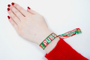 christmas party accessories pub crawl wristbands