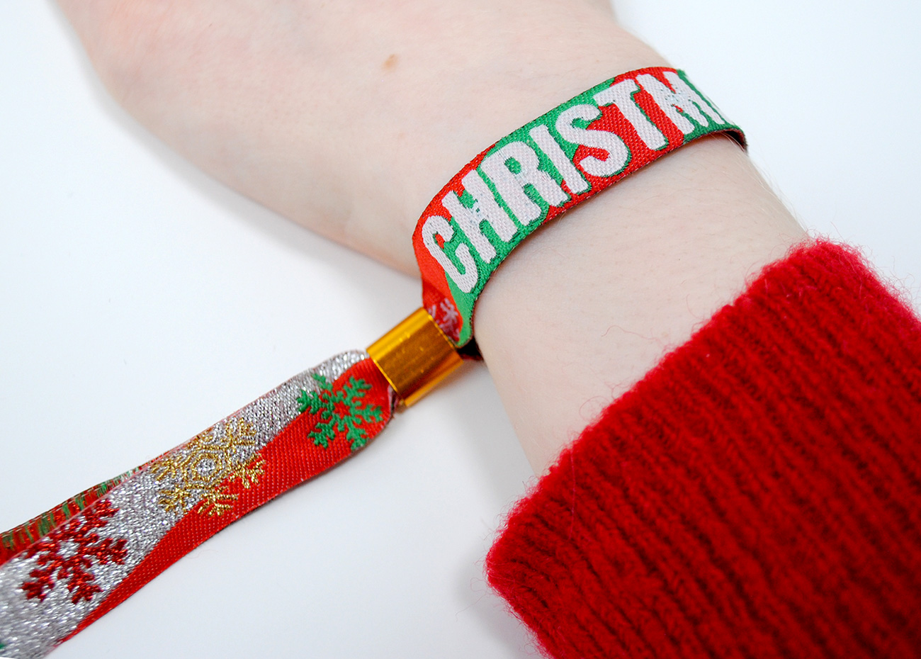 christmas party bag favours adults work party xmas wristband