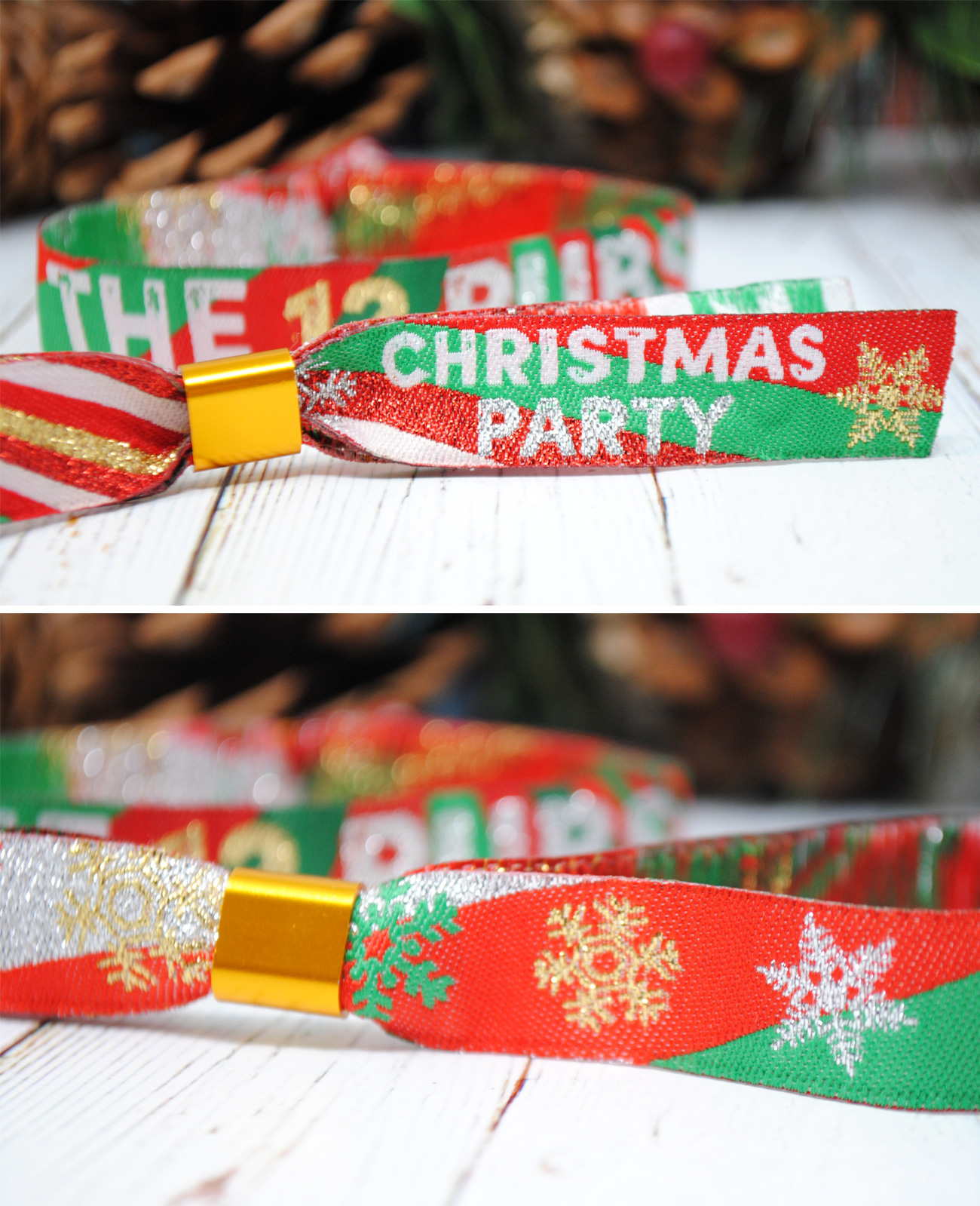 christmas party supplies party bags pub crawl wristband favours twelve pubs
