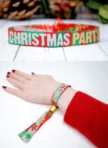 christmas party wristbands bracelets
