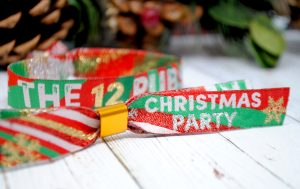 christmas pub crawl wristbands